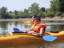 Jugend auf der Donau