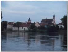 Blick auf Straubing