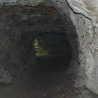 Höhle bei einer Radtour gefunden