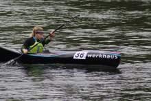 Schnellste im Sprint: Maria Weber (KK Rosenheim)